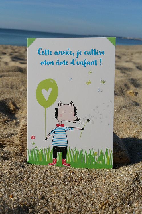 Carte postale Âme d'enfant