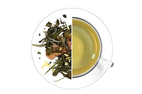 "Green & White Tea ""Silk Road"" - with Jasmine, Kombucha, Peach blossom (100g)"