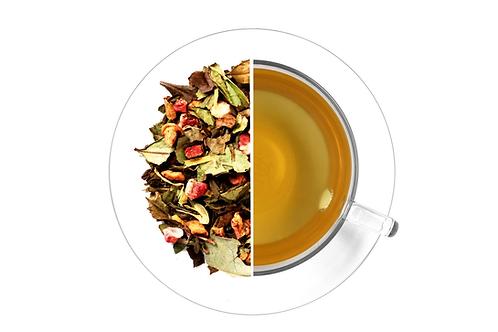 White Tea with Strawberry & Aloe (100g)