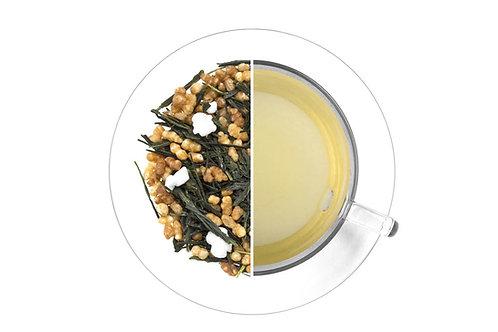 Green - Genmaicha Musashi - Green Tea with roasted rice (100g)
