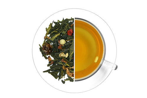Chilli Romance - Green tea with red peppercorns (100g)