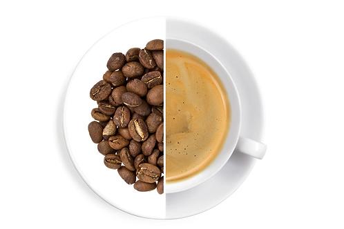 Small Estate Aribica Coffee (CAFFEINE FREE)  ( * B E A N S ) ( 250g)