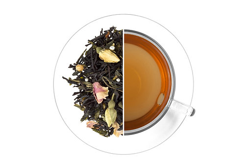 Happy Birthday Tea - Black and green tea with roses (100g)