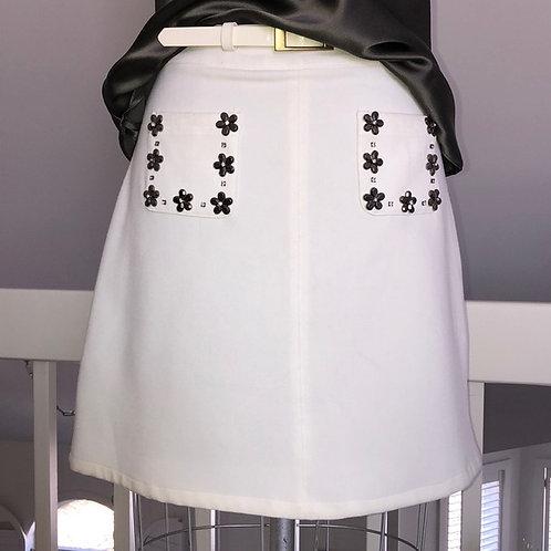Darling White Skirt