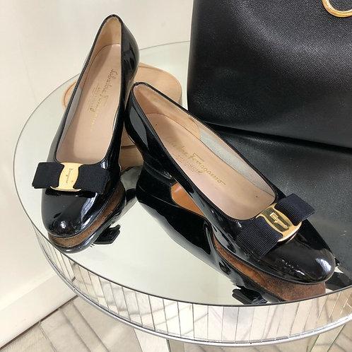 Salvatore Ferragamo - black shoes