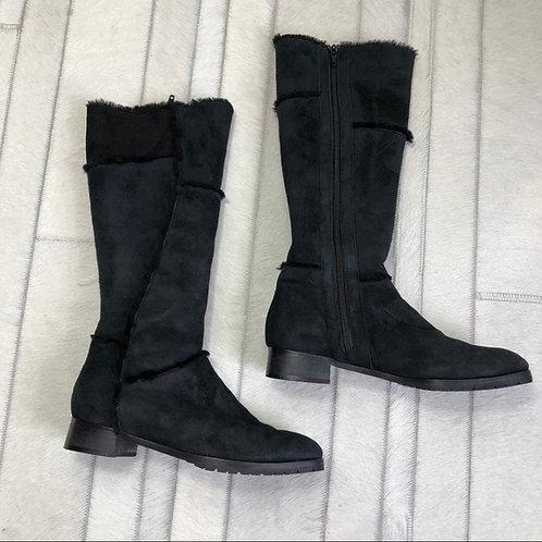 Manolo Blahnik - black winter boots