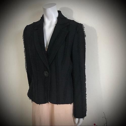 Tribal - black blazer