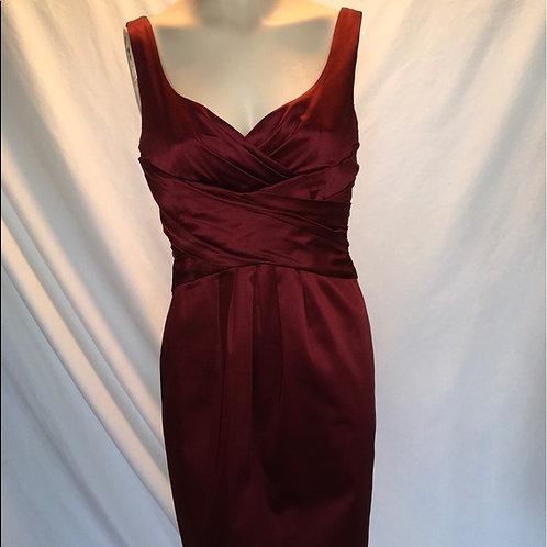 Jones New York Burgundy dress