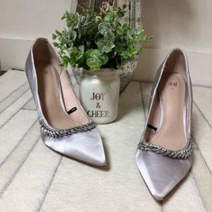 H&M - silver shoes