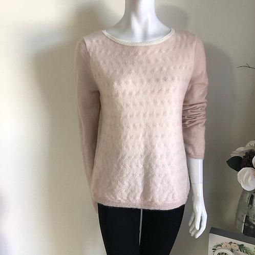 Halston Heritage blush sweater