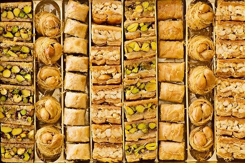 Assorted Baklava (60 pieces)