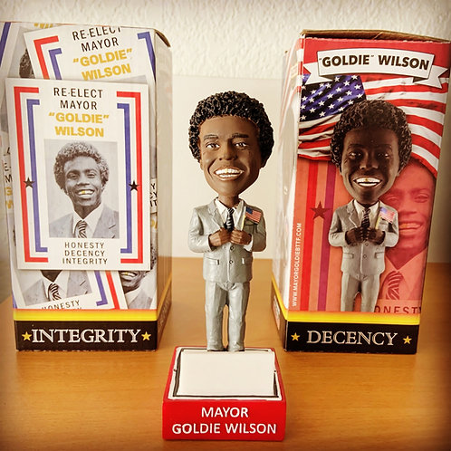 Goldie Wilson Bobble Head Limited Edition