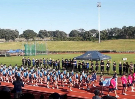 Trans Tasman Athletics report