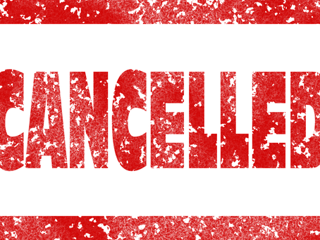 Face to face training Mon-Wed (incl junior athletics) cancelled