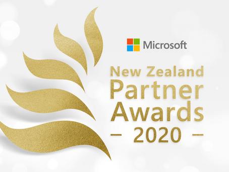 Finalist at Microsoft NZ Partner Awards