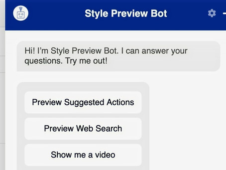 Style a chatbot to match your brand – in minutes