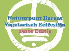 Vegetarisch eetfestijn 25ste editie