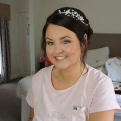 Bridal Makeup on Claire