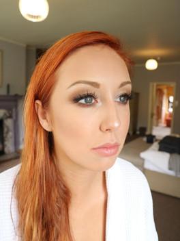 Bridesmaid Makeup on Katya