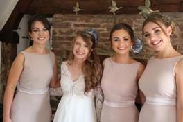 Bridesmaid and Bridal Makeup