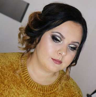 My beautiful client Paige ready for her