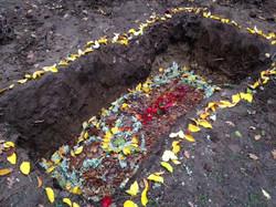 Robin's grave