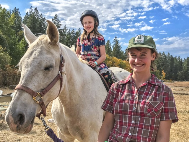 Pony Rides at Ekone Ranch