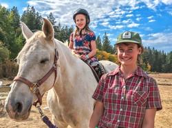 Pony Rides at Ekone Ranch