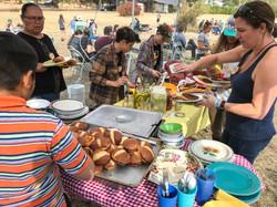 Yummy Tummy spread at Ekone Ranch