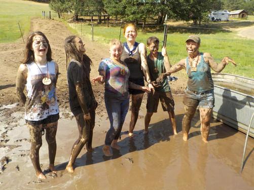 muddy water trough