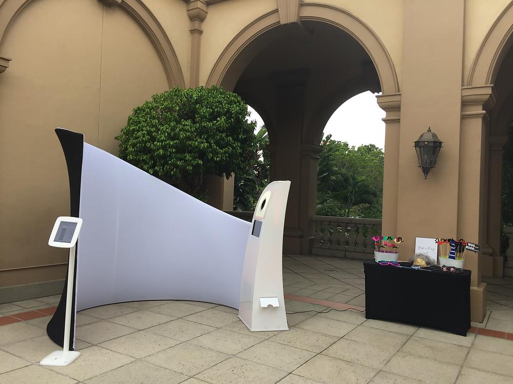 Photo booth at The Ritz-Carlton