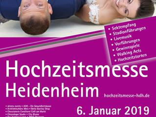 Hochzeitsmesse Heidenheim 2019