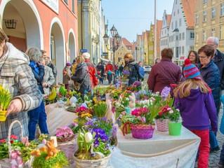 Ostereier-Markt in Donauwörth - am 11.03. haben wir von 13:00 Uhr bis 18:00 Uhr geöffnet
