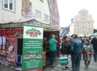 11.10. Kunst- und Handwerkermarkt mit Einkaufssonntag in Donauwörth