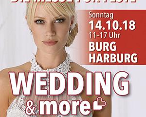 WEDDING & more auf Burg Harburg Hochzeitsmesse am 14.10.18