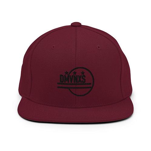 All Black DMVNXS Snapback Hat