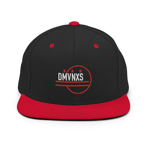 White/Red DMVNXS Classic Snapback