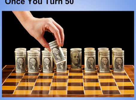 Smart Money Moves to Make Once You Turn 50