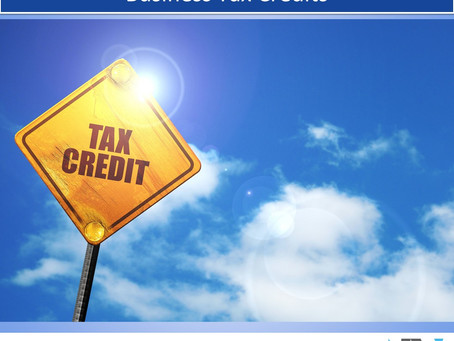 Don't Overlook These Essential Small Business Tax Credits