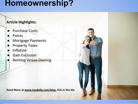 What Are the Tax Advantages of Homeownership?