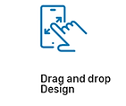 Smart Signage Drag and drop design