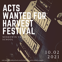 Acts Wanted for Harvest Festival.png