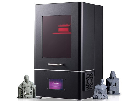 Phrozen Shuffle — One of the best intro resin 3D printers 2019 for small Dental Labs.