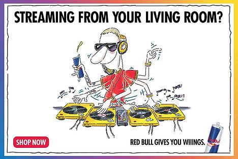 DGTL LIB Red Bull Sponsorship - Twitch H