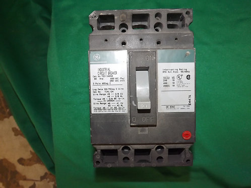 TED134090 90 AMP 480 VOLT 3-Pole General Electric
