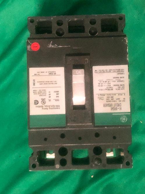 THED124030 30 AMP 480 VOLT GE Breaker