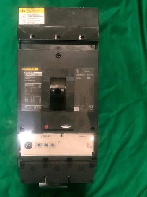 LDA36400U31X 400 AMP Circuit Breaker