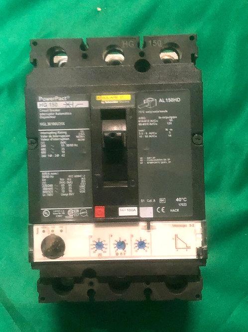 HGL36100U31X 100 AMP Circuit Breaker