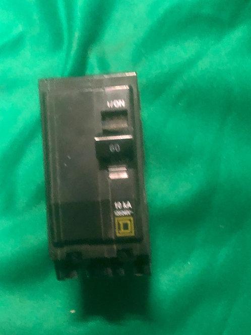 QOB260 12040V 60 AMP Square D