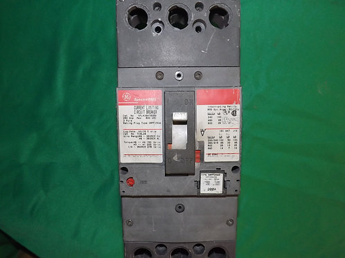 SFLA36AT0250 250 AMP 3 Pole General Electric Breaker
